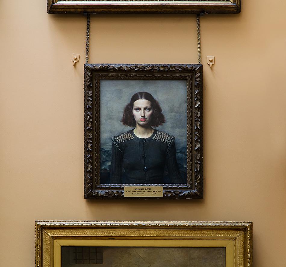 Lady Lever Art Gallery, Gerard Leslie Brockhurst, Jeunesse Dorée