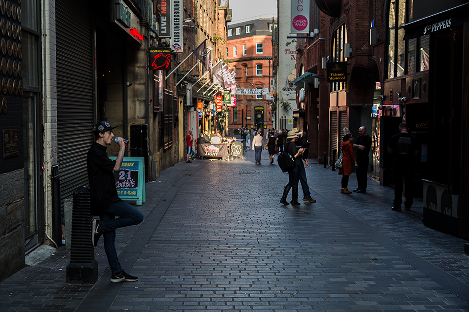Liverpool, Mathew Street, Cavern Club