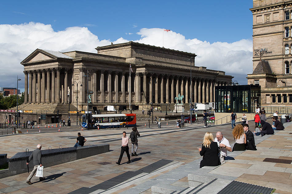 Liverpool, St George's Hall