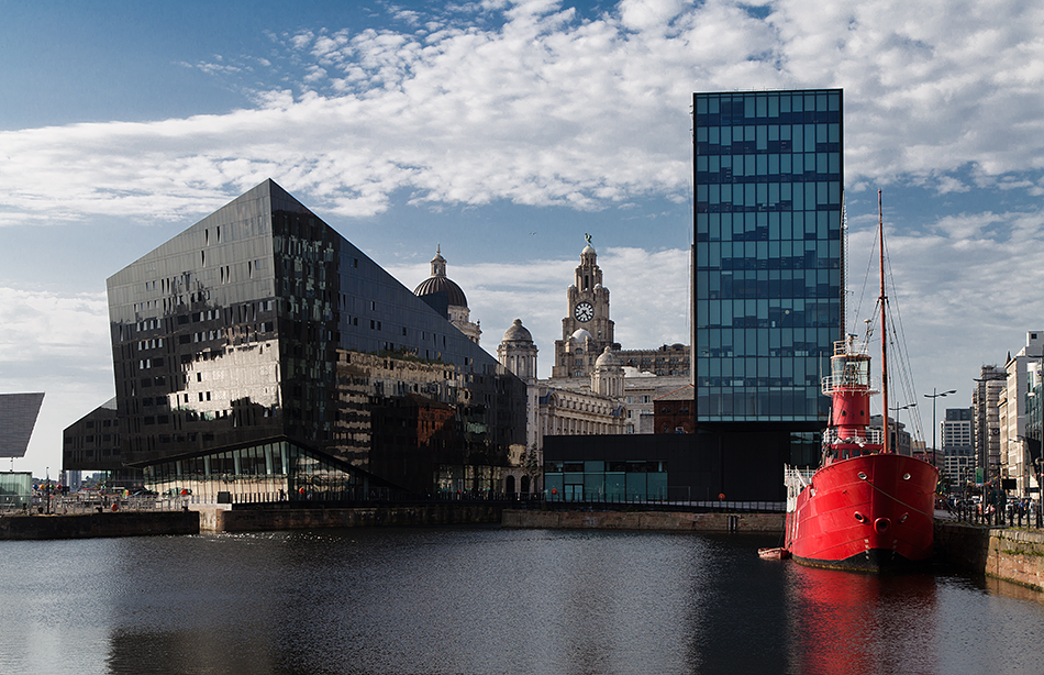 Liverpool, Canning Dock and Mann Island