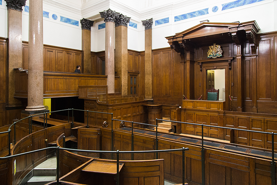 Liverpool, Court Room at St George's Hall