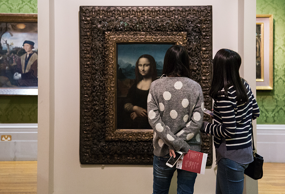 Liverpool, Walker Art Gallery, After Leonardo da Vinci, Portrait of Mona Lisa