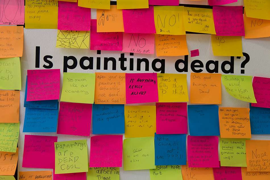 Liverpool, Walker Art Gallery, John Moores painting Price: Is Painting Dead?