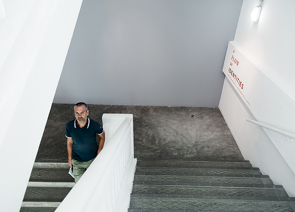 Staircase of Sam at 8Q, Singapore Biennale 2016, Fabian Fröhlich