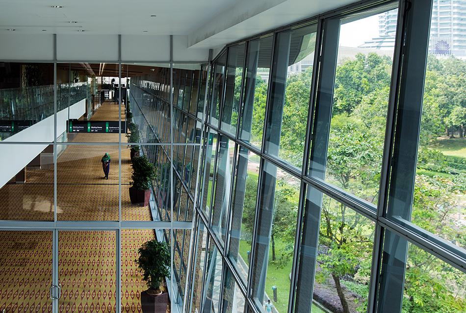 Fabian Fröhlich. Kuala Lumpur, KL Convention Center
