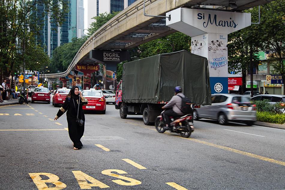 Fabian Fröhlich. Kuala Lumpur, Jalan Sultan Ismail