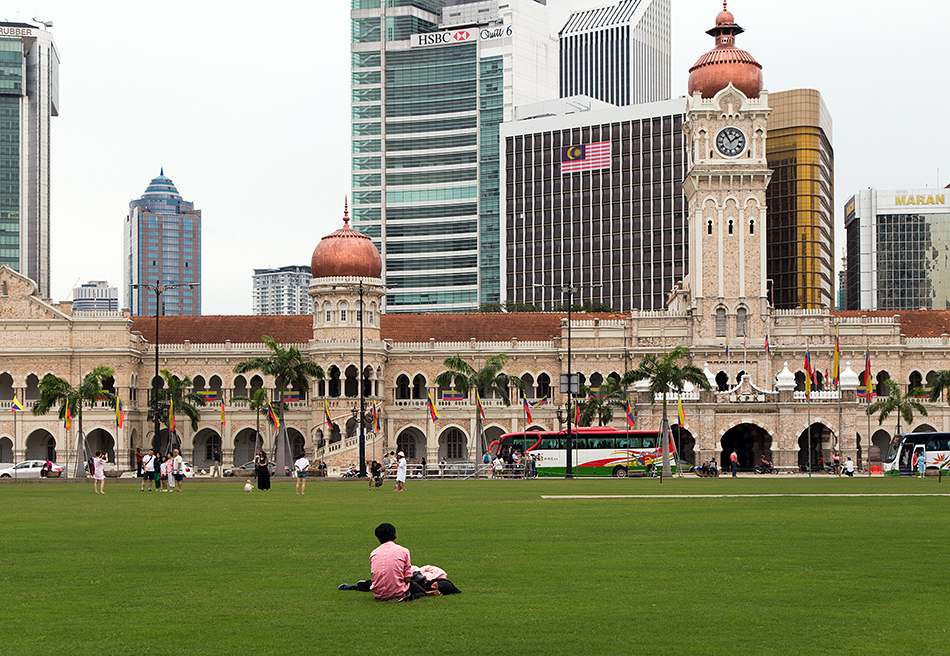 Kuala Lumpur, Merdeka Square and Bangunan Sultan Abdul Samad