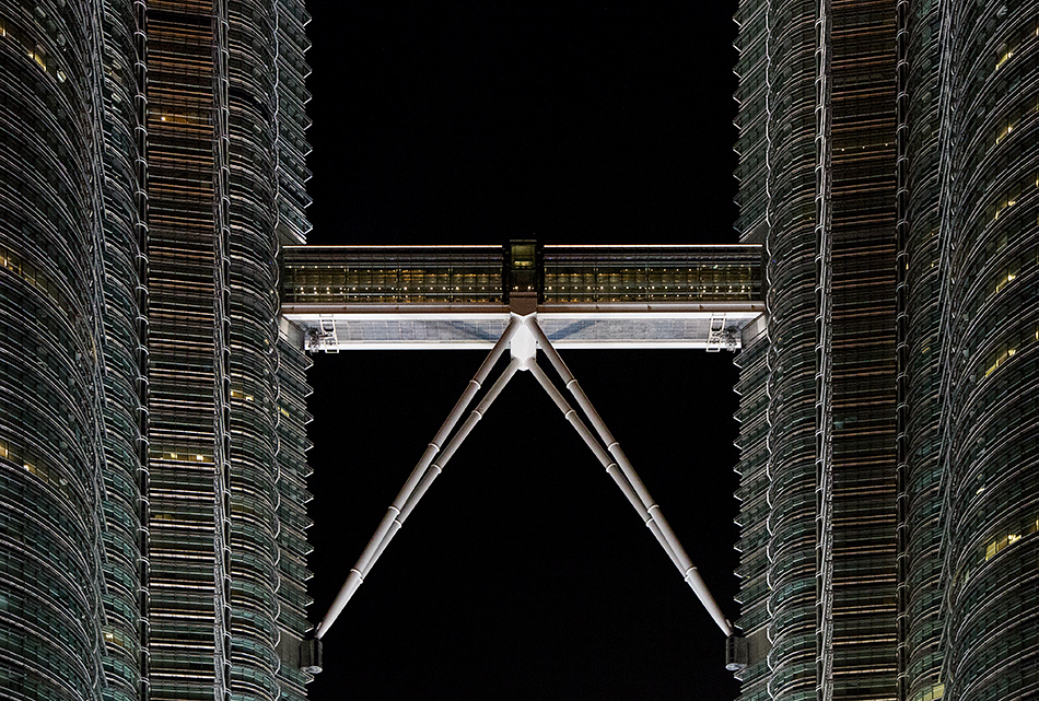 Fabian Fröhlich, Kuala Lumpur, Petronas Twin Towers, Skybridge