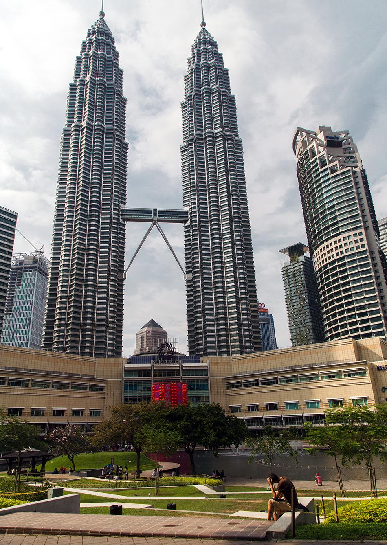 Fabian Fröhlich, Kuala Lumpur, Petronas Twin Towers,