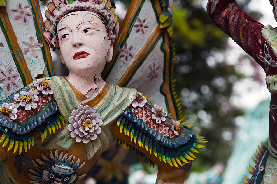 Fabian Fröhlich, Singapore. Haw par Villa, Saga of the Immortals