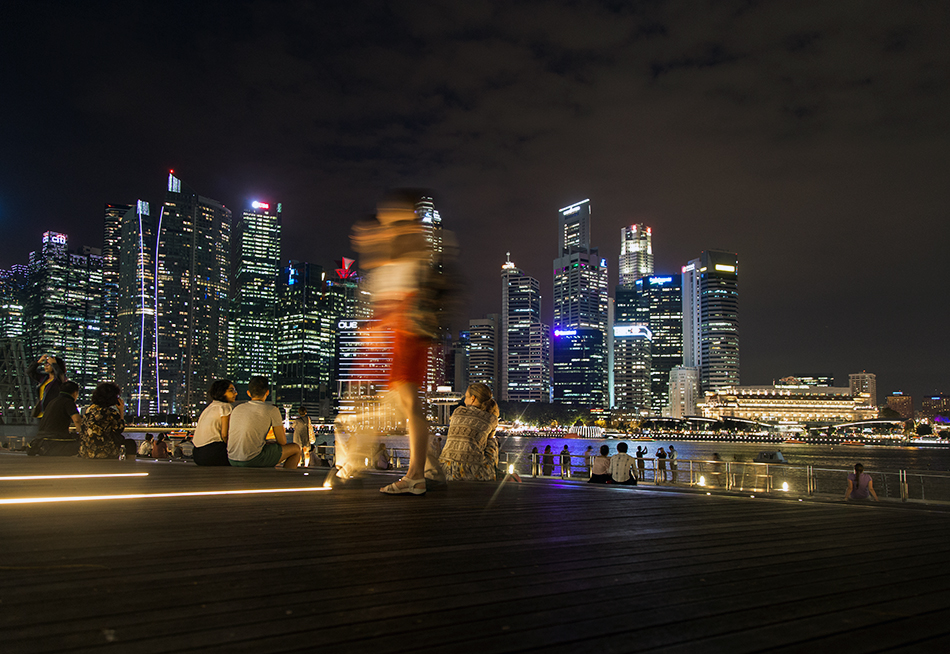 Fabian Fröhlich, Singapore, Marina Bay Sands, Waterfront