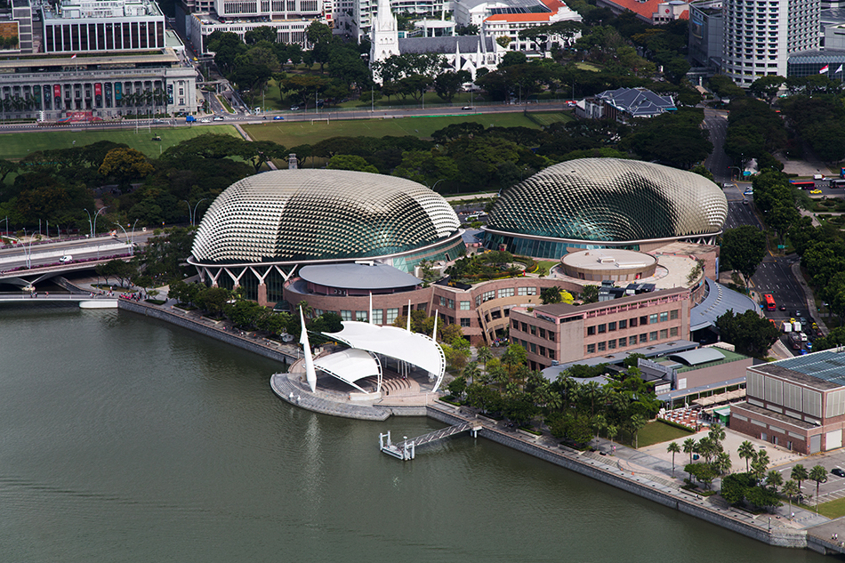 Fabian Fröhlich, Singapore, Esplanade – Theatres on the Bay