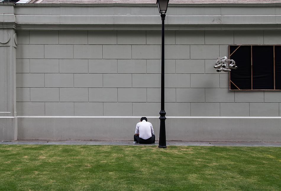 Fabian Fröhlich, Singapore, Raffles Place, Surveillance Camera