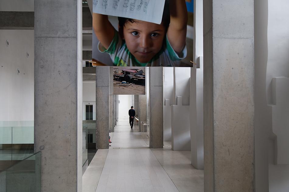 Hans Haacke, Attica , EMST, documenta 14, Athen, Fabian Fröhlich