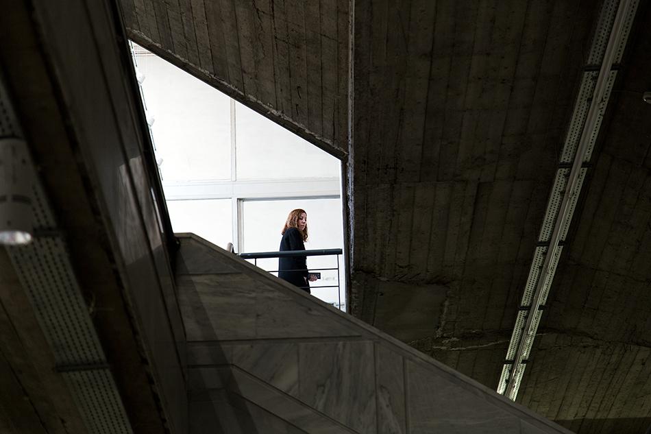 documenta 14, Athens, Staircase Odeion, Fabian Fröhlich