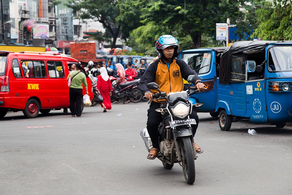 Fabian Fröhlich, Jakarta, Jalan Pancoran