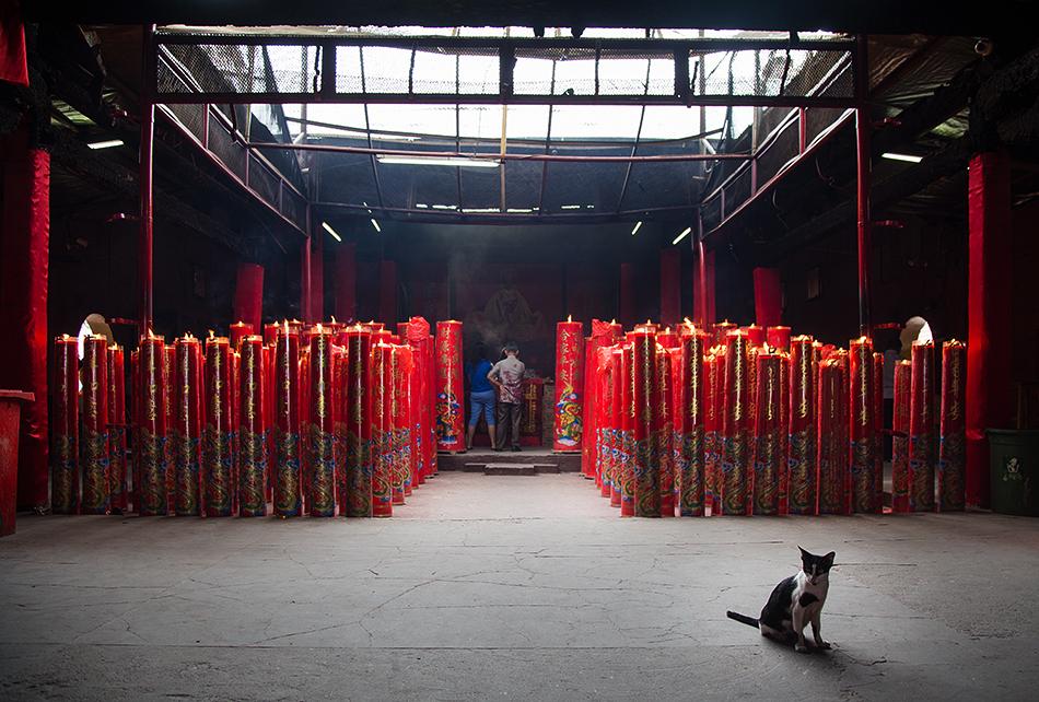 Fabian Fröhlich, Jakarta, Jin De Yuan Temple