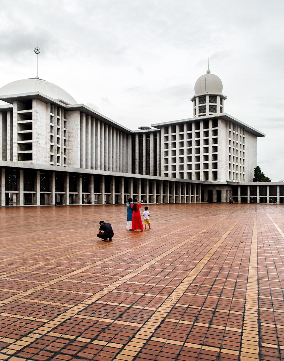 Fabian Fröhlich, Jakarta, Istiqlal Mosque