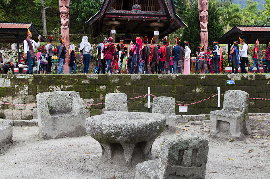 Fabian Fröhlich, Lake Toba, Samosir, Siallagan Stone Chairs