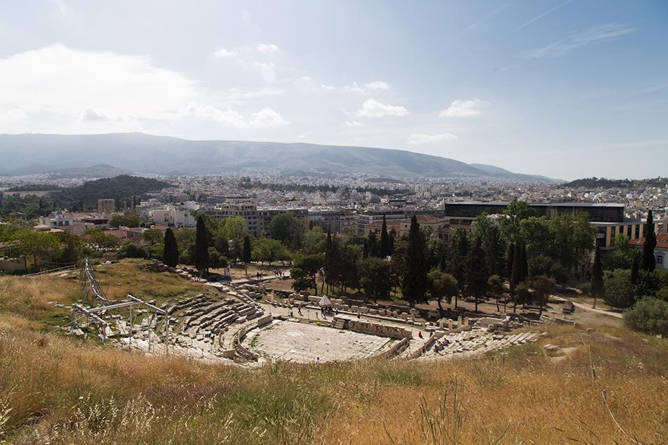 Athen, Dionysos-Theater, Fabian Fröhlich