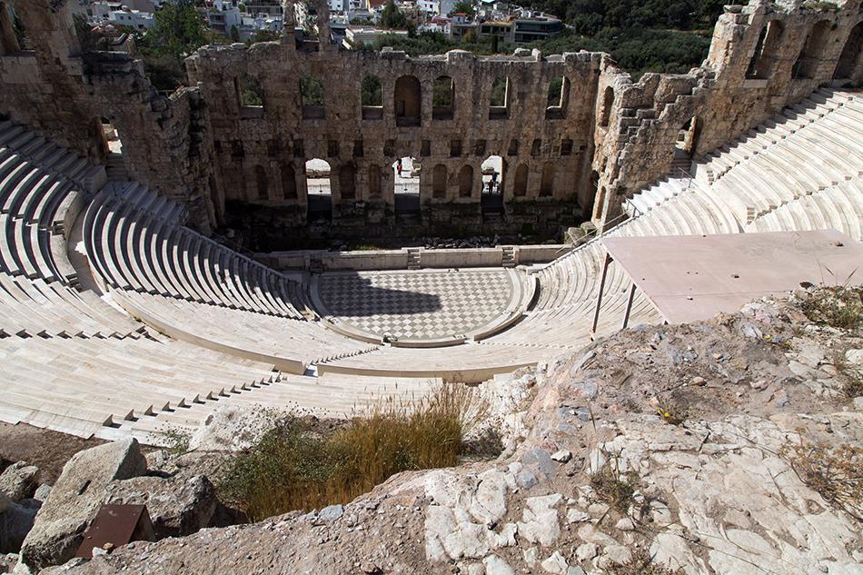 Athen, Odeon des Herodes Atticus, Fabian Fröhlich