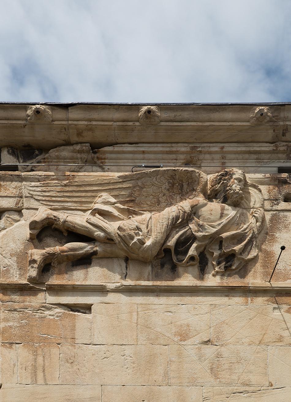 Athens, Römische Agora, Turm der Winde, Boreas, Fabian Fröhlich