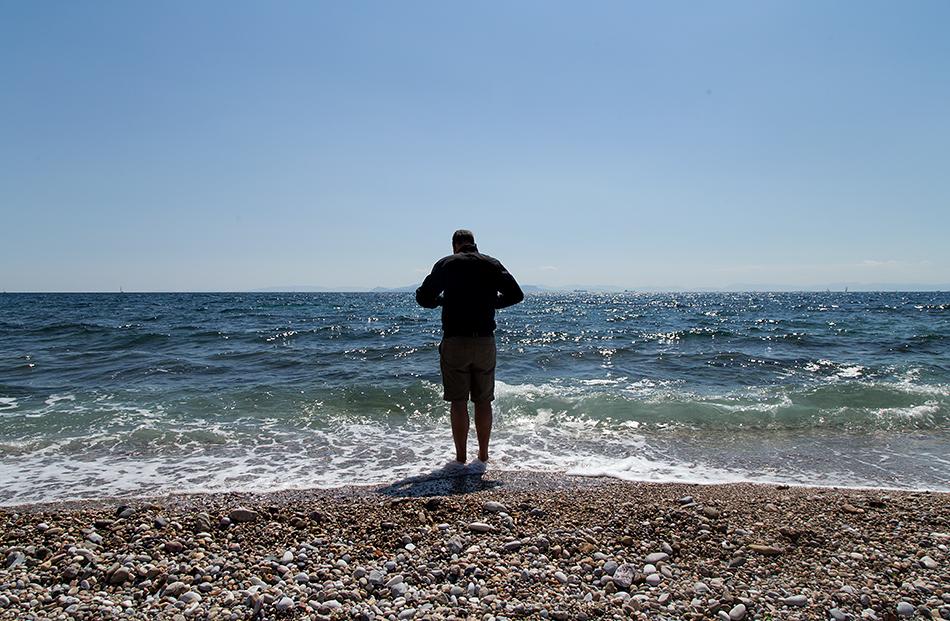 Athens, Beach near Alimos