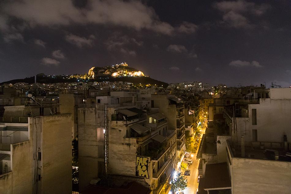 Fabian Fröhlich, Athen, Exarchiion Hotel