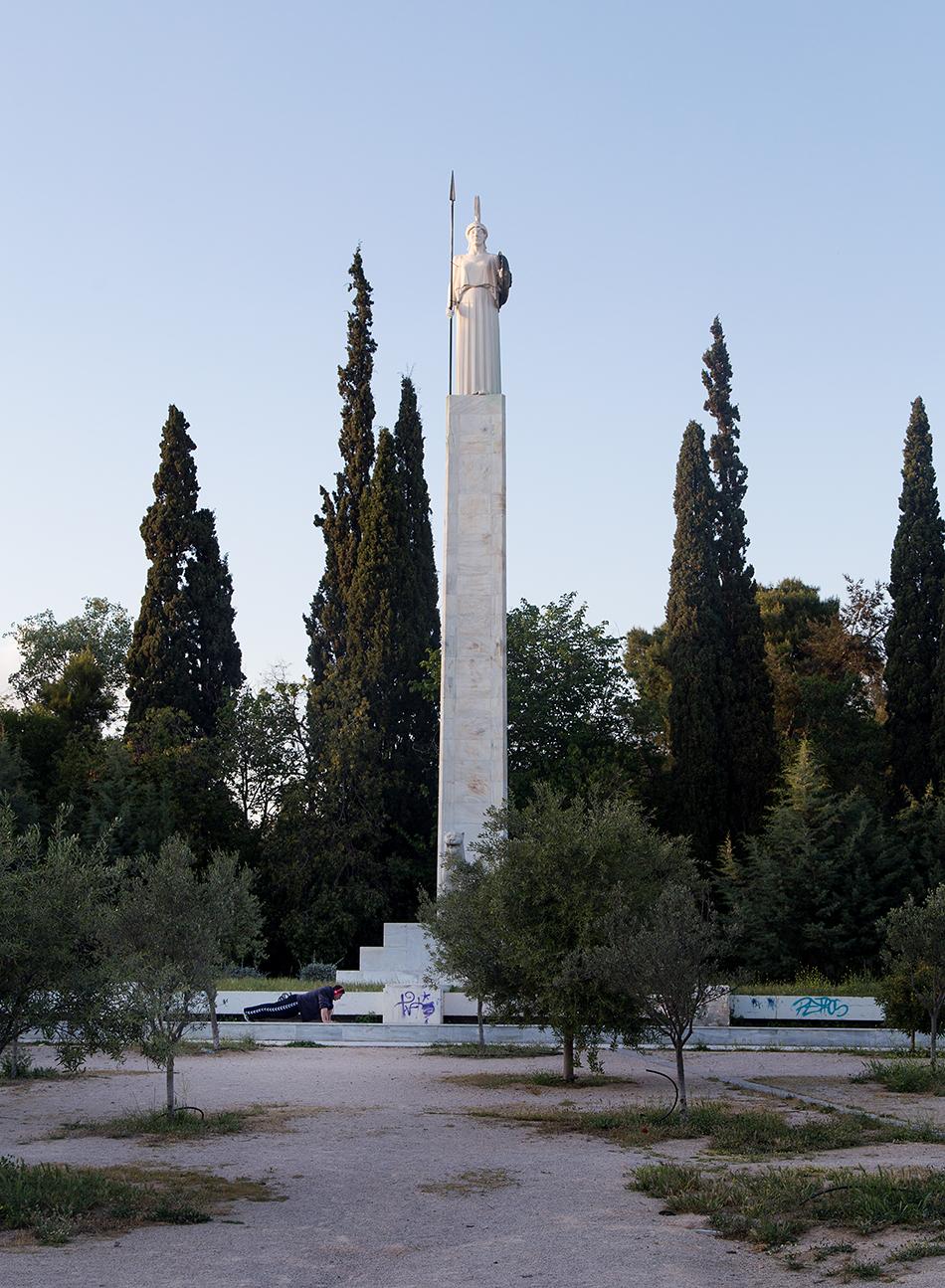 Fabian Fröhlich, Athen, Pedion Areos