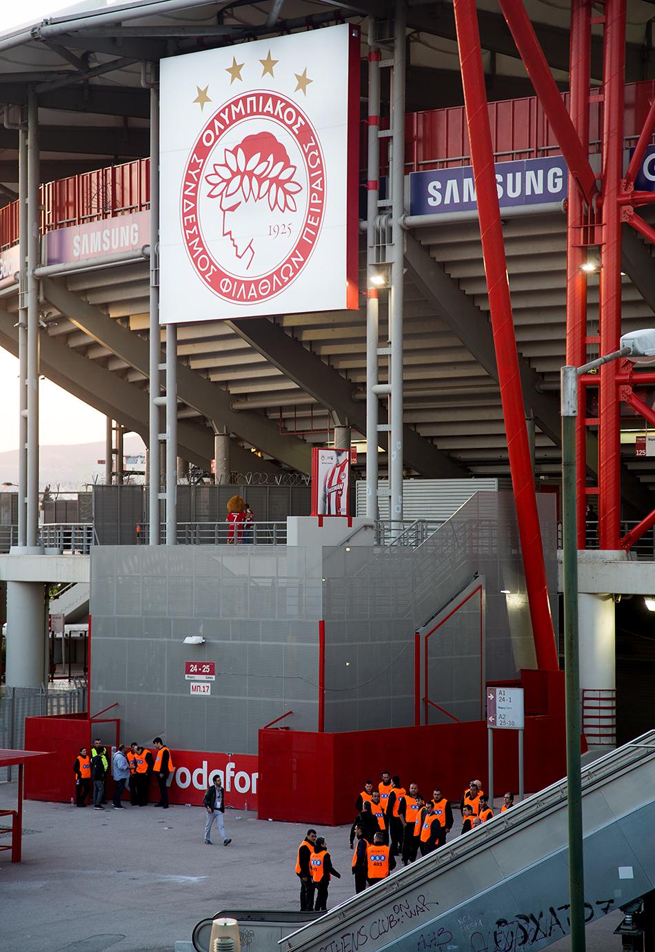 Fabian Fröhlich, Piréas, Georgios Karaiskakis Stadium