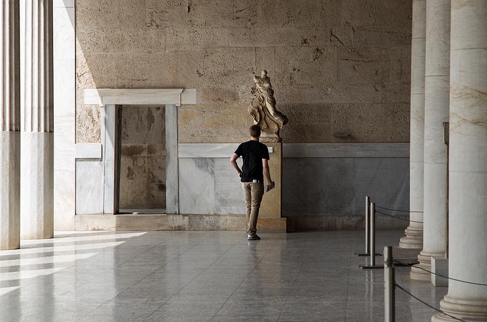 Athen, Statue der Nike in der Stoa des Attalos, Fabian Fröhlich