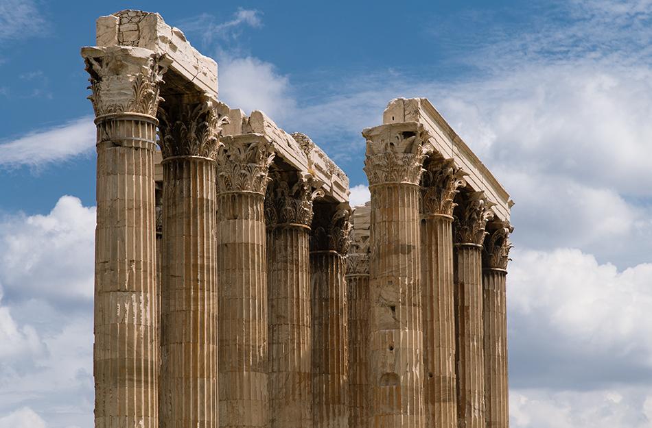 Athen, Tempel des Olympischen Zeus, Fabian Fröhlich