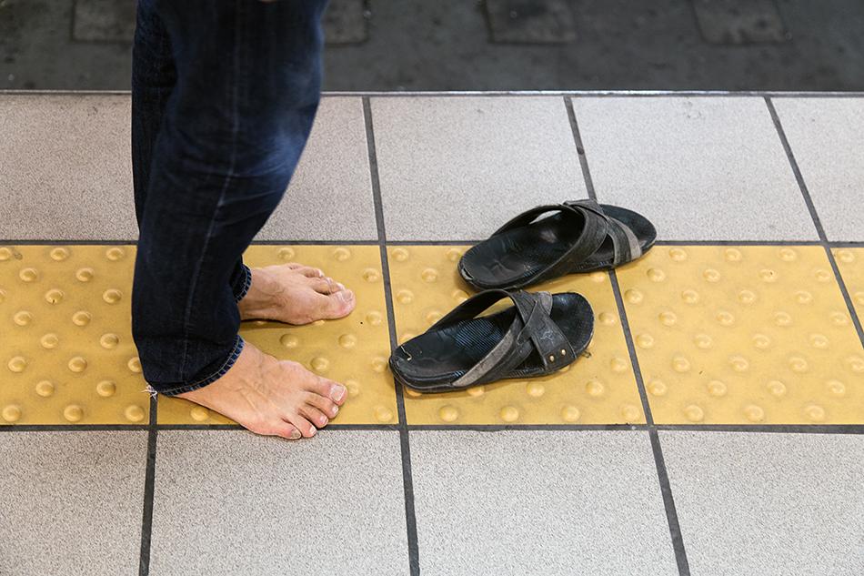 Fabian Fröhlich, Athen, Omonoia Metro Station