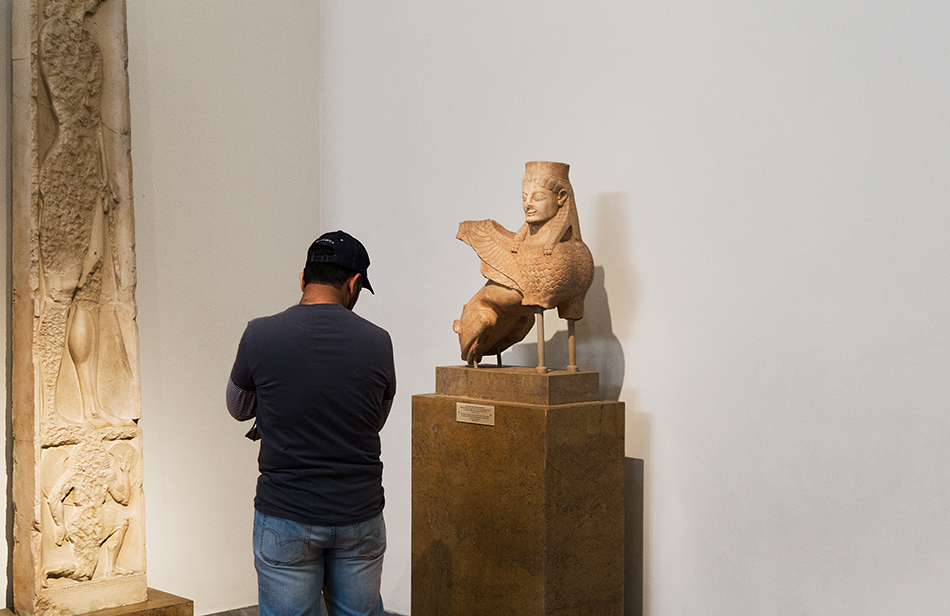 Fabian Fröhlich, National Archaeological Museum of Athens, Sphinx