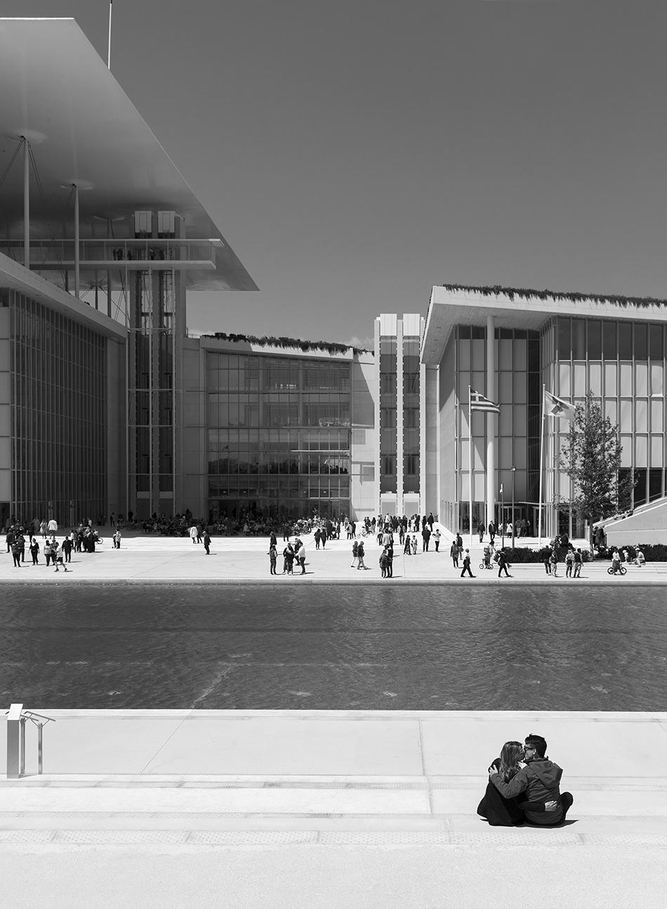Athen, Stavros Niarchos Foundation Cultural Center von Renzo Piano
