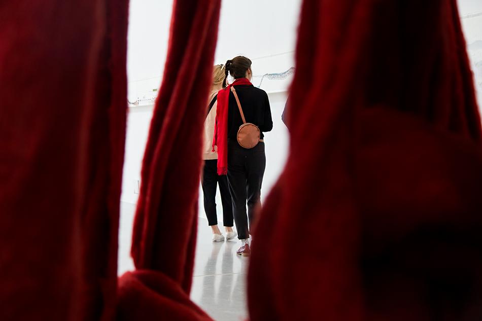 Fabian Fröhlich, documenta 14, Kassel,  Cecilia Vicuña, Quipu Gut
