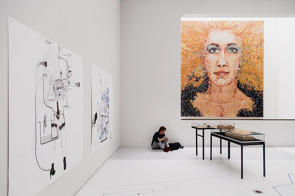 Fabian Fröhlich, documenta 14, Kassel, Work by Lorenza Böttner, Neue Galerie