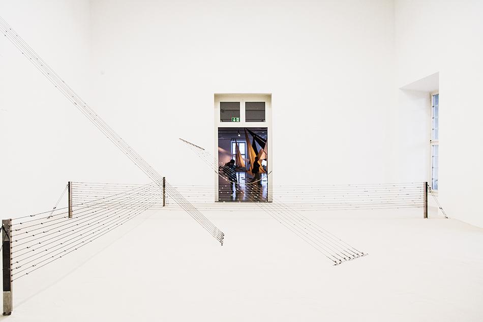 Fabian Fröhlich, documenta 14, Kassel, Fridericianum, EMST, George Lappas, Abacus