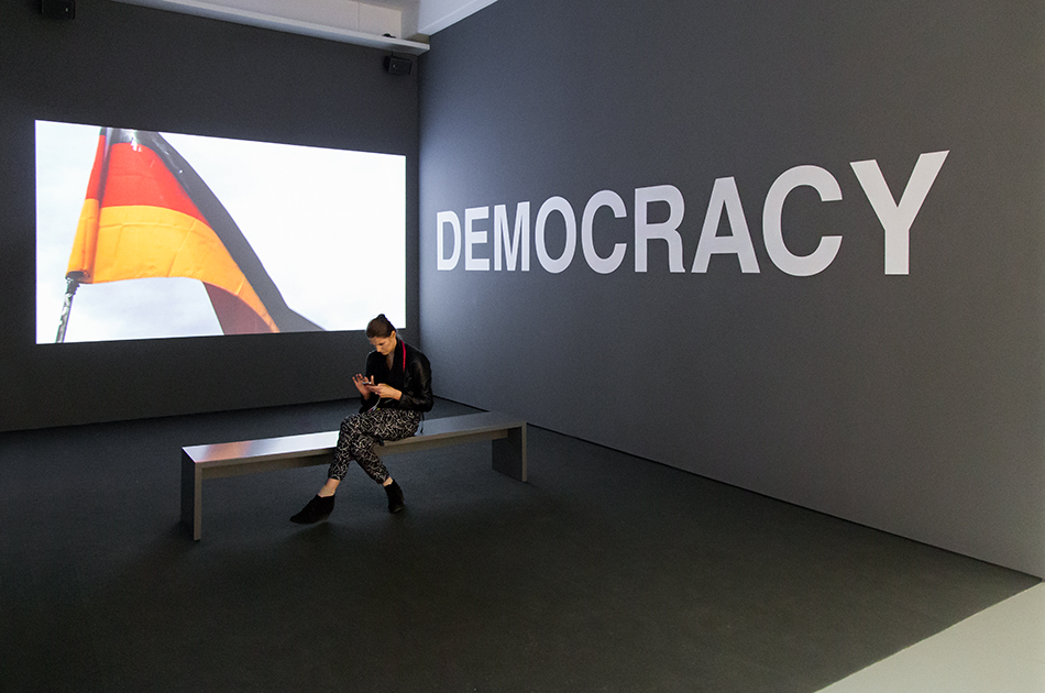 Fabian Fröhlich, documenta 14, Kassel, Fridericianum, EMST, Oliver Ressler, What is Democracy?
