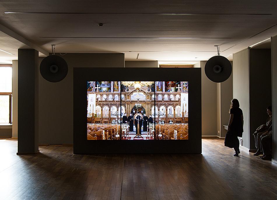 Fabian Fröhlich, documenta 14, Kassel, Romuald Karmakar, BYZANTION / Agni Parthene