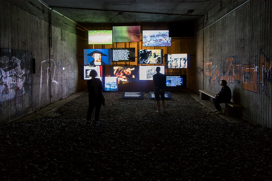 Fabian Fröhlich, documenta 14, Kassel, Michel Auder,  The Course of Empire (Underground Train Station)