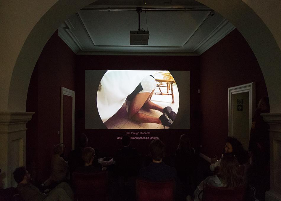 Fabian Fröhlich, documenta 14, Kassel, Roee Rosen, Dust Chanel (Palais Bellevue)