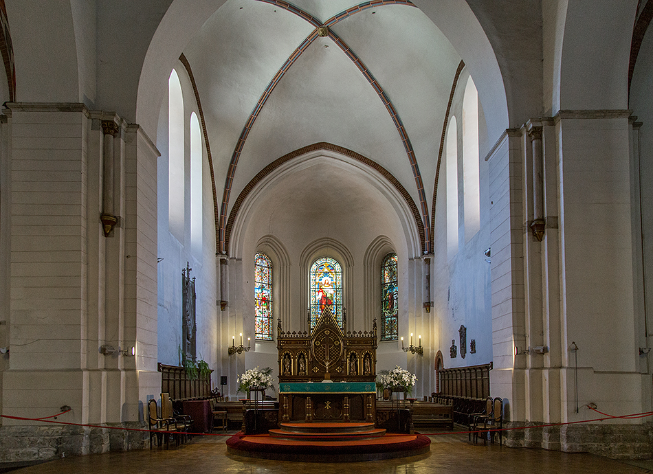 Riga, Historical Centre, Altar im Dom