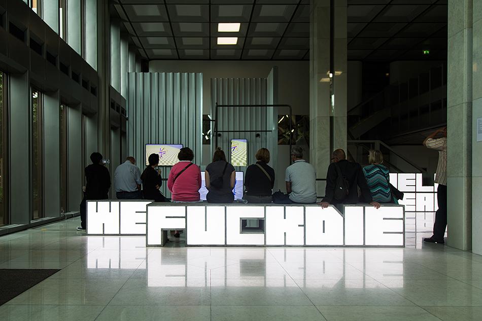 Fabian Fröhlich, Skulptur Projekte Münster, Hito Steyerl, HellYeahWeFuckDie