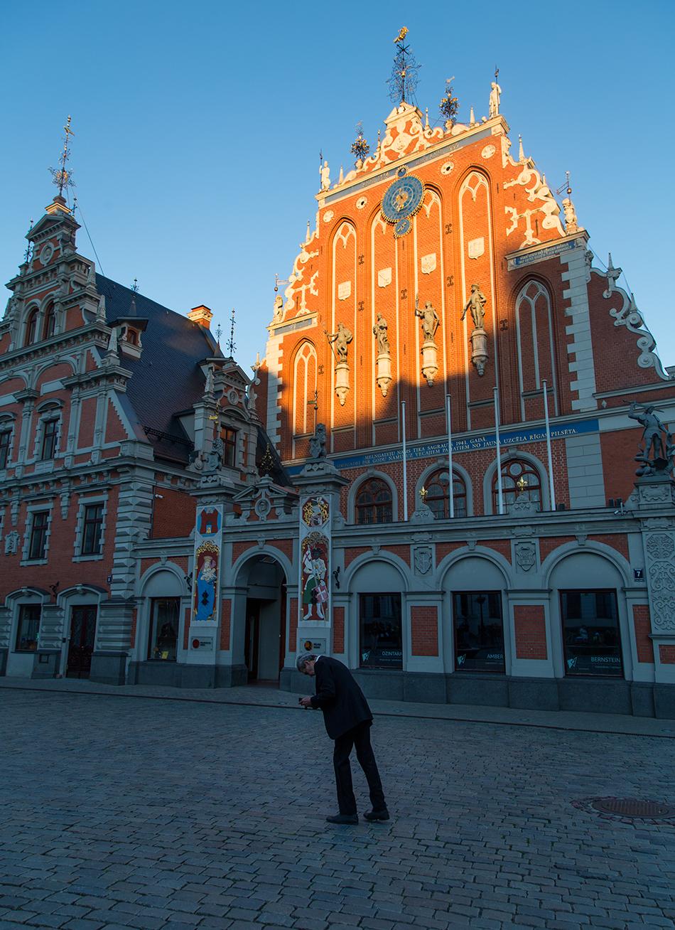 Riga, Historical Centre,  Schwarzhäupterhaus