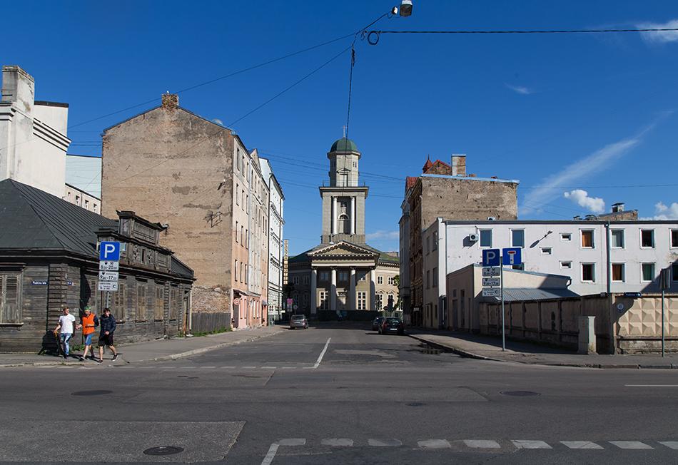 Fabian Fröhlich, Riga, Jēzus Evaņģēliski luteriskā baznīca