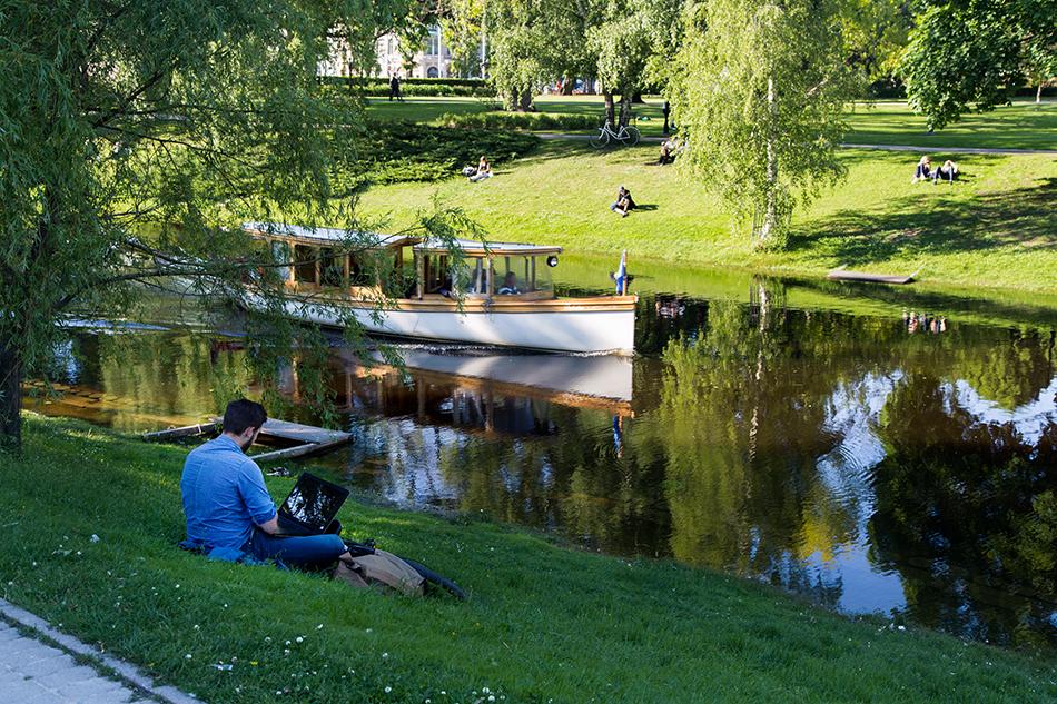Fabian Fröhlich, Riga, Canal