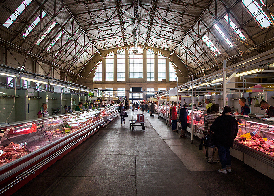 Fabian Fröhlich, Riga, Central Market