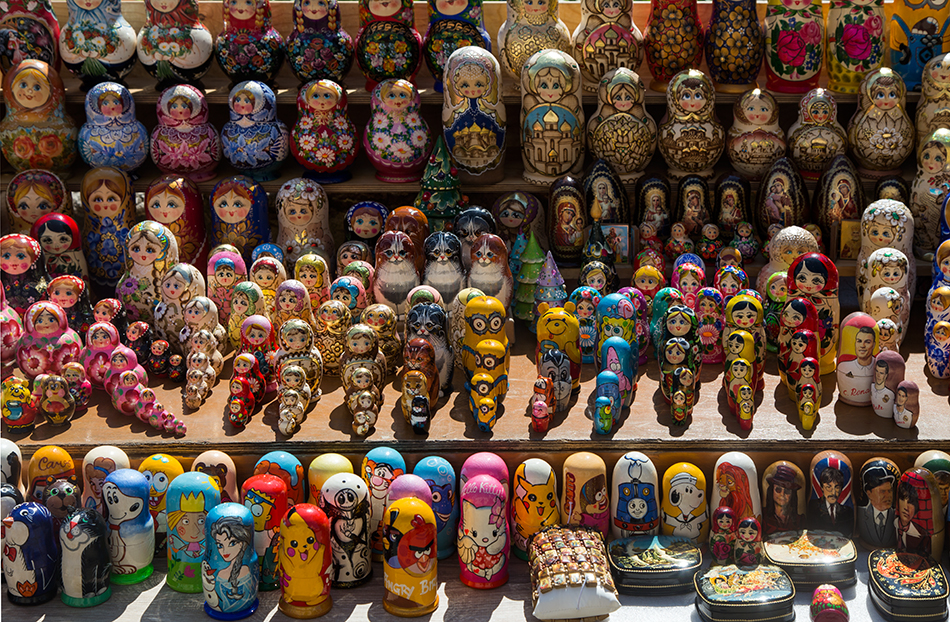 Riga, Historical Centre, Matryoshka