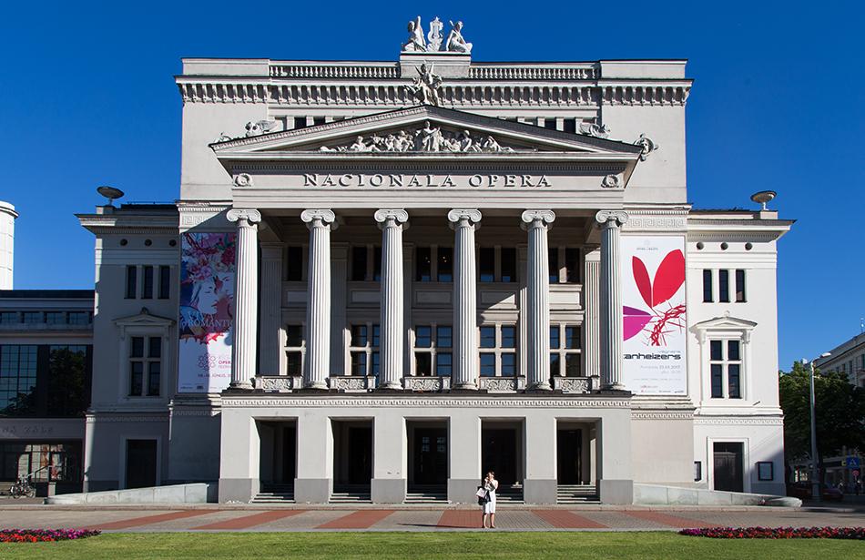 Fabian Fröhlich, Riga, Latvian National Opera